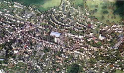 Aerial photo of Wotton